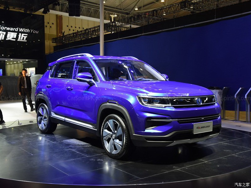Changan CS35 Plus at 2018 Chengdu Auto Show 1