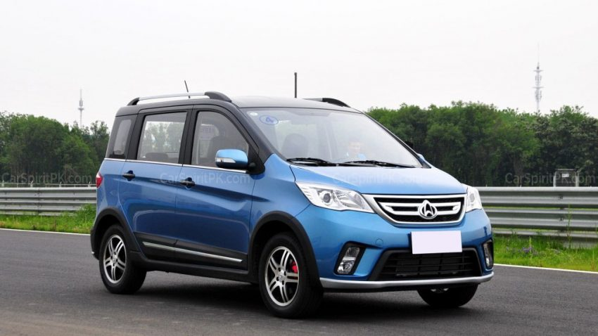 The Changan Eulove X6 12