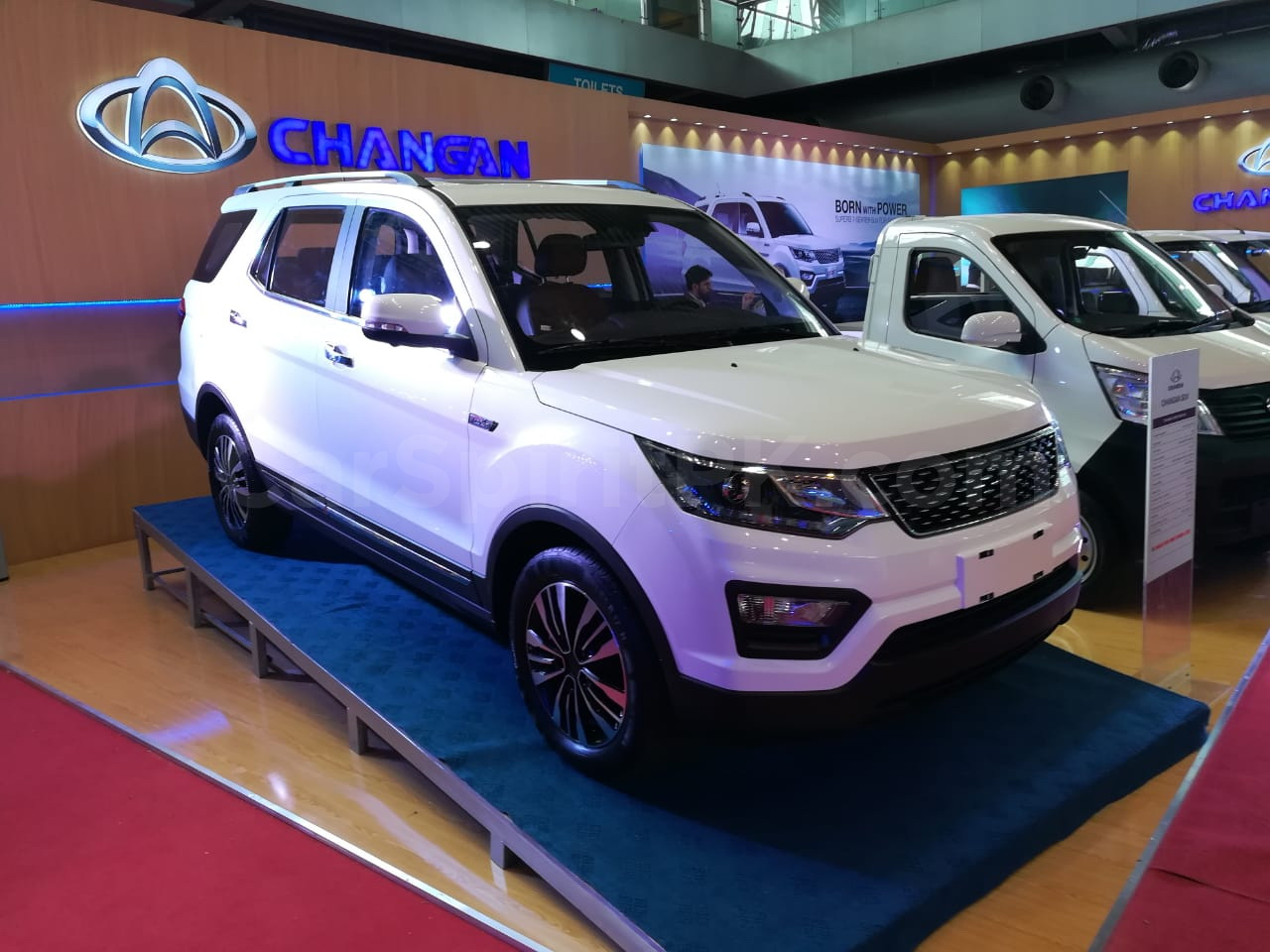 The Changan Eulove X6 7