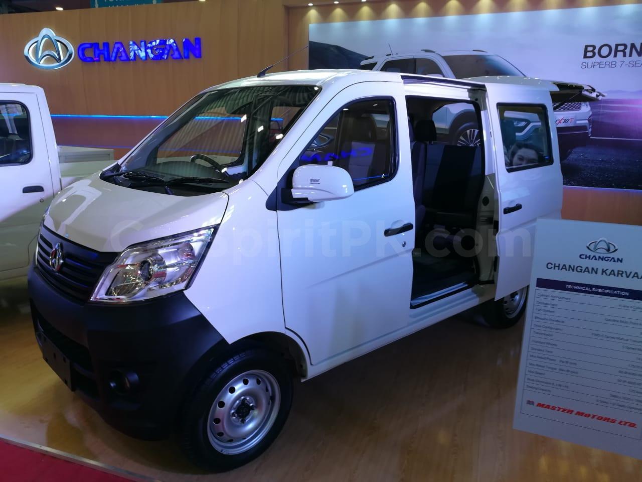 Changan Launches Karvaan Minivan and M-9 Pickup 1