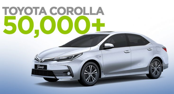 Indus Motors Sold 50,000+ Toyota Corolla Units for the 4th Consecutive Year 1