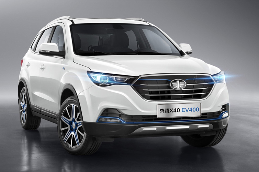 2019 FAW Besturn X40 and EV400 Launched in China 1