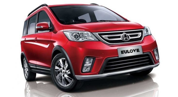 The Changan Eulove X6 1