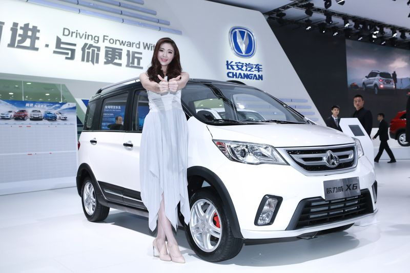 The Changan Eulove X6 11