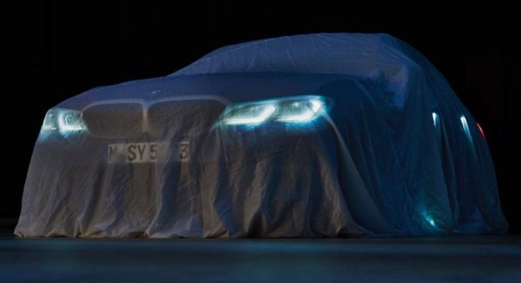 2019 BMW 3 Series G20 Teased Ahead of Debut 1