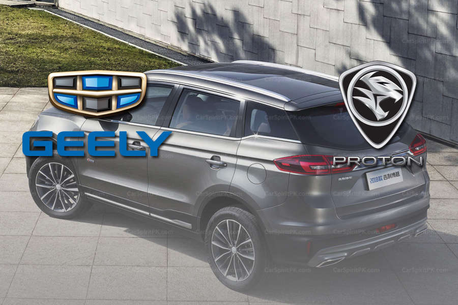 Geely To License 3 Models To Proton 4