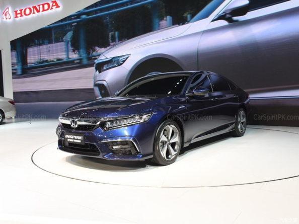 Honda Inspire at 2018 Chengdu Auto Show 2