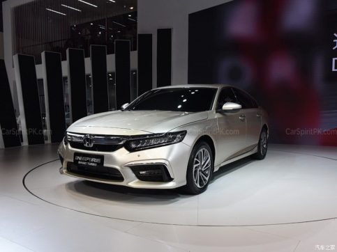 Honda Inspire at 2018 Chengdu Auto Show 13