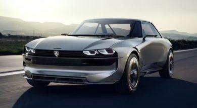 Peugeot Unveils the E-Legend- A Retro Styled Electric Vehicle 19