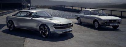 Peugeot Unveils the E-Legend- A Retro Styled Electric Vehicle 30