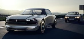 Peugeot Unveils the E-Legend- A Retro Styled Electric Vehicle 29