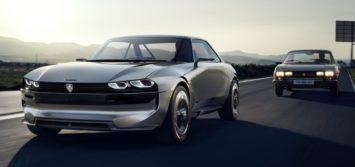 Peugeot Unveils the E-Legend- A Retro Styled Electric Vehicle 4