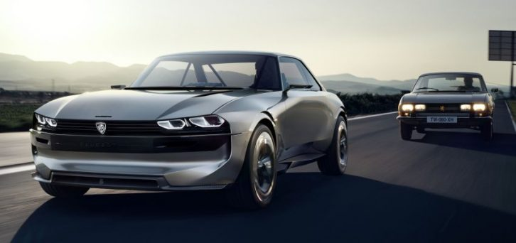 Peugeot Unveils the E-Legend- A Retro Styled Electric Vehicle 5