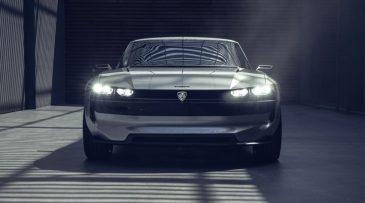 Peugeot Unveils the E-Legend- A Retro Styled Electric Vehicle 28