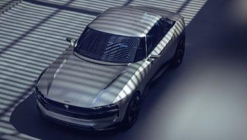 Peugeot Unveils the E-Legend- A Retro Styled Electric Vehicle 27