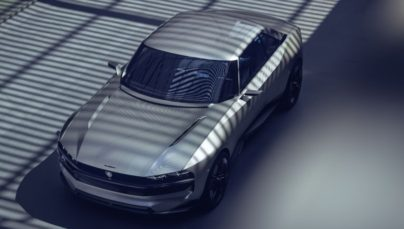 Peugeot Unveils the E-Legend- A Retro Styled Electric Vehicle 26