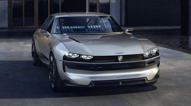 Peugeot Unveils the E-Legend- A Retro Styled Electric Vehicle 22