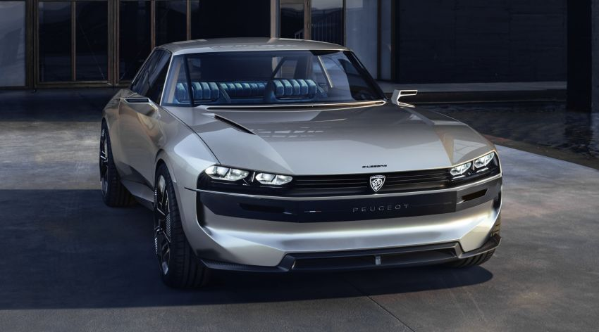 Peugeot Unveils the E-Legend- A Retro Styled Electric Vehicle 6