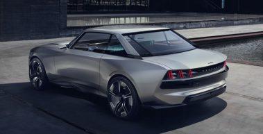 Peugeot Unveils the E-Legend- A Retro Styled Electric Vehicle 44
