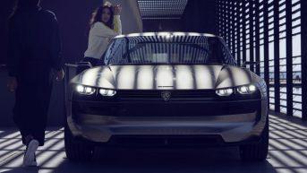 Peugeot Unveils the E-Legend- A Retro Styled Electric Vehicle 43