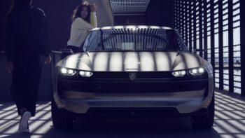 Peugeot Unveils the E-Legend- A Retro Styled Electric Vehicle 42