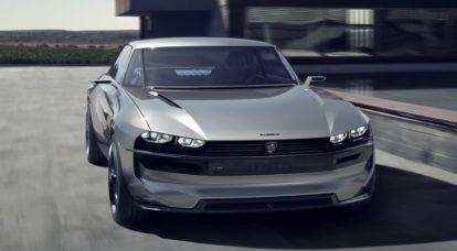 Peugeot Unveils the E-Legend- A Retro Styled Electric Vehicle 39