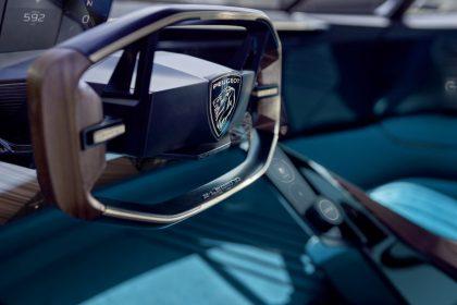 Peugeot Unveils the E-Legend- A Retro Styled Electric Vehicle 33