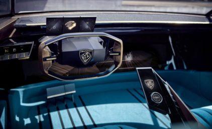 Peugeot Unveils the E-Legend- A Retro Styled Electric Vehicle 64