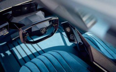Peugeot Unveils the E-Legend- A Retro Styled Electric Vehicle 56