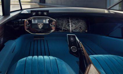Peugeot Unveils the E-Legend- A Retro Styled Electric Vehicle 53