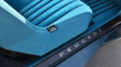 Peugeot Unveils the E-Legend- A Retro Styled Electric Vehicle 47