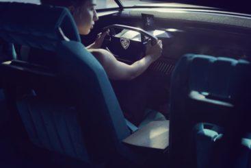 Peugeot Unveils the E-Legend- A Retro Styled Electric Vehicle 8