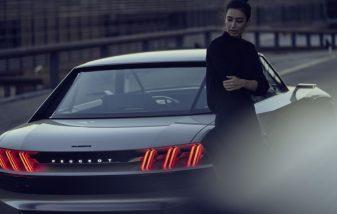 Peugeot Unveils the E-Legend- A Retro Styled Electric Vehicle 49