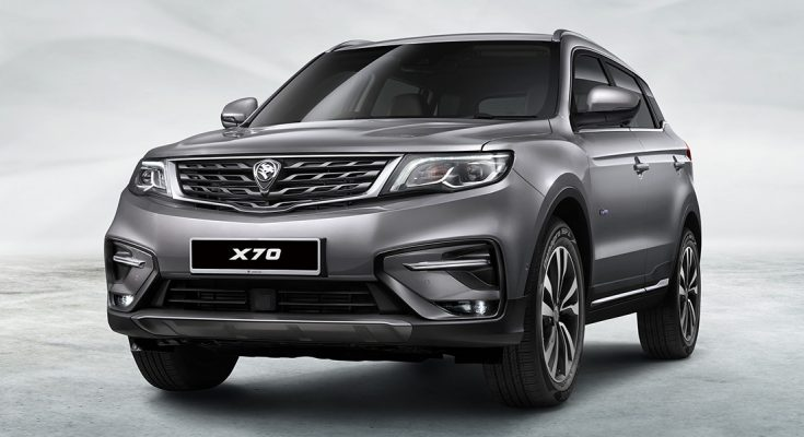 Geely Boyue Based Proton SUV is Called X70- Details Available 1