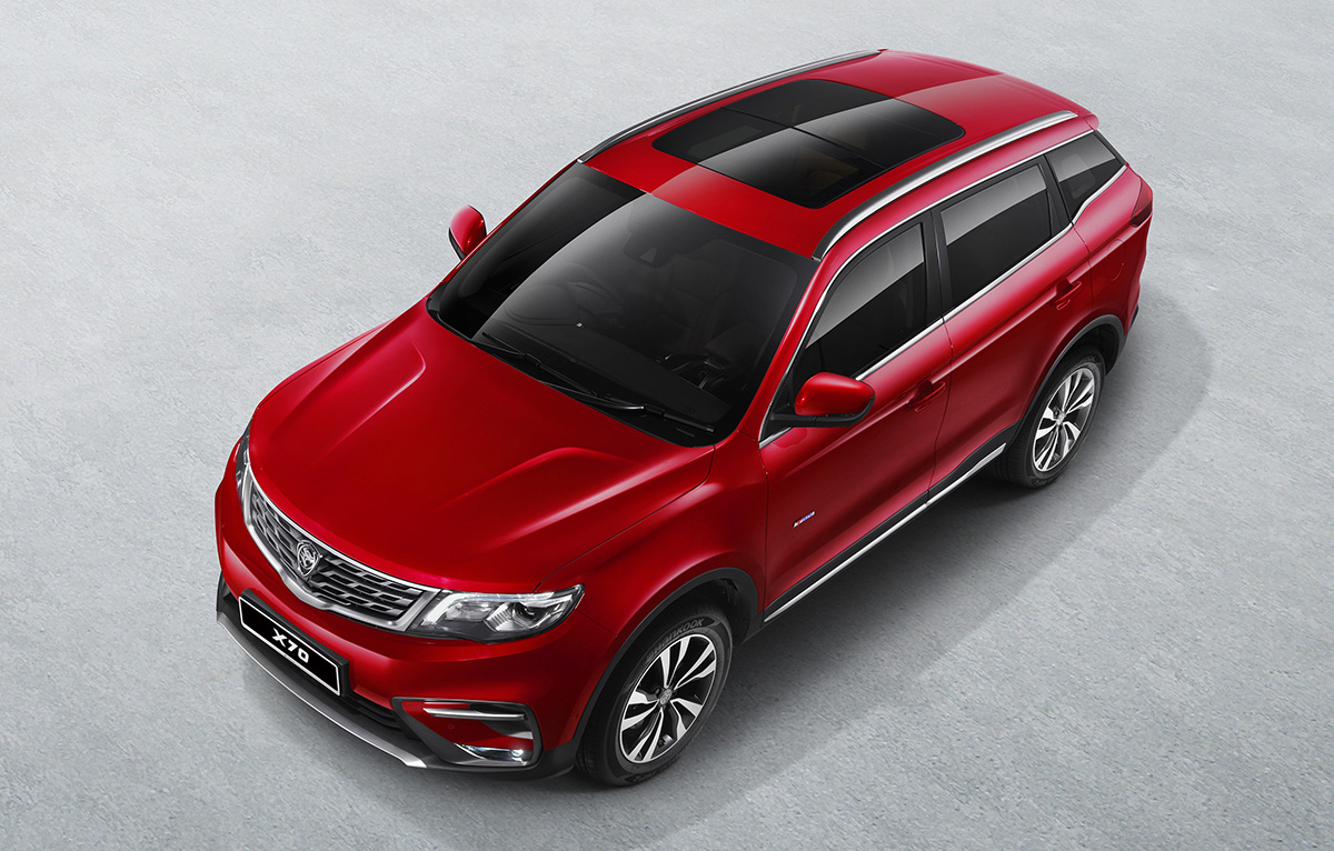 Proton Officially Unveils the Geely Boyue-Based X70 SUV 2