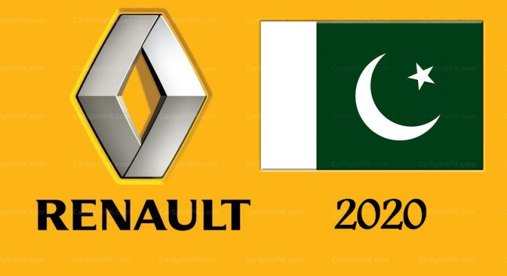 Renault to Launch Cars in Pakistan by June 2020 1