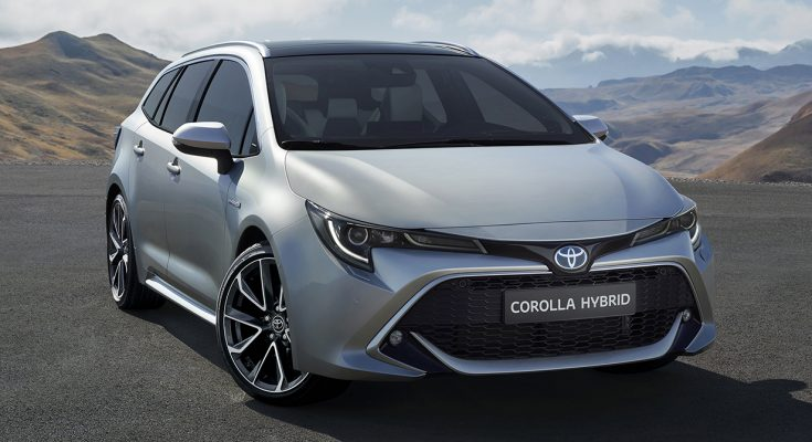 Toyota Corolla Touring Sports Revealed Ahead of Paris Motor Show Debut 2