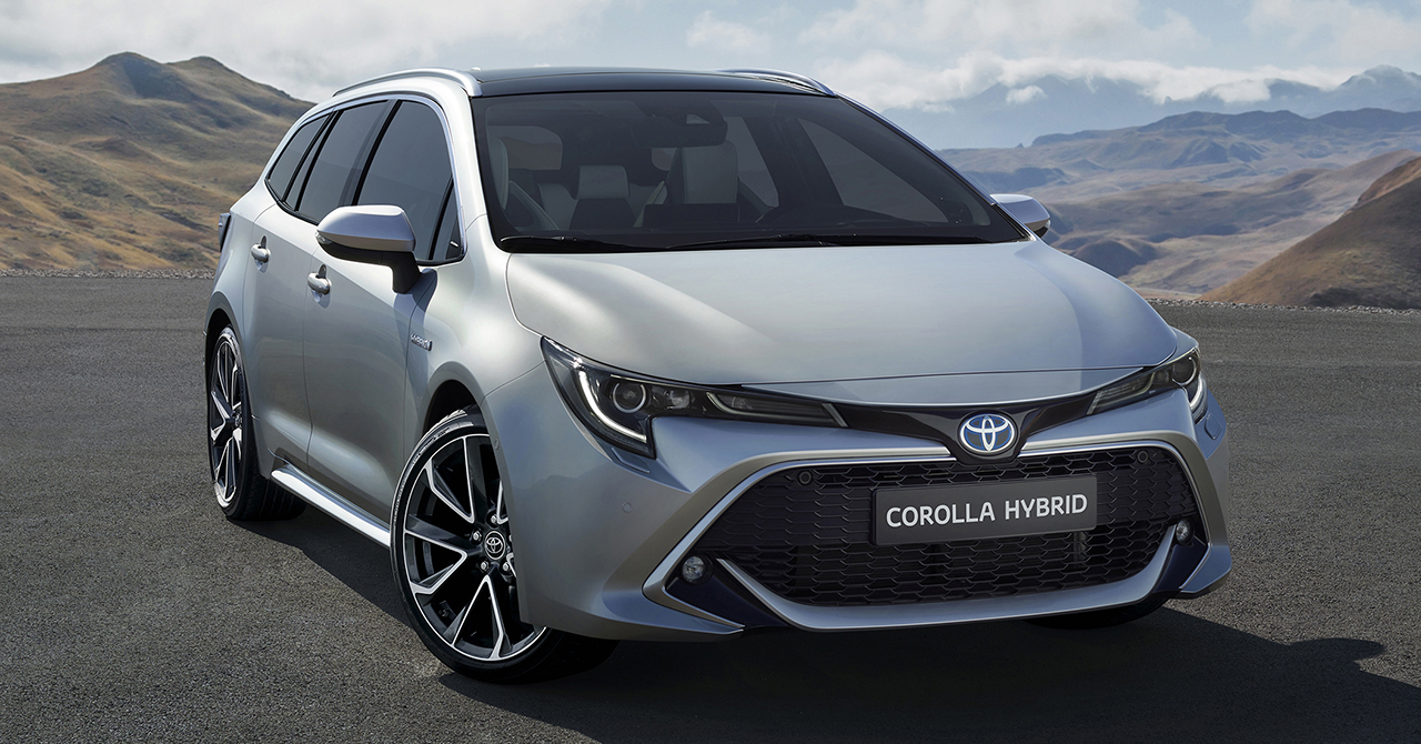 Toyota Corolla Touring Sports Revealed Ahead of Paris Motor Show Debut 4