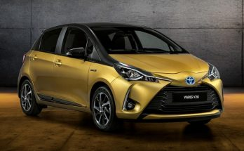 Toyota Celebrates 20 Years of Yaris with Gold-Painted Special Edition 18