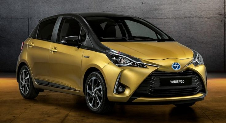 Toyota Celebrates 20 Years of Yaris with Gold-Painted Special Edition 1