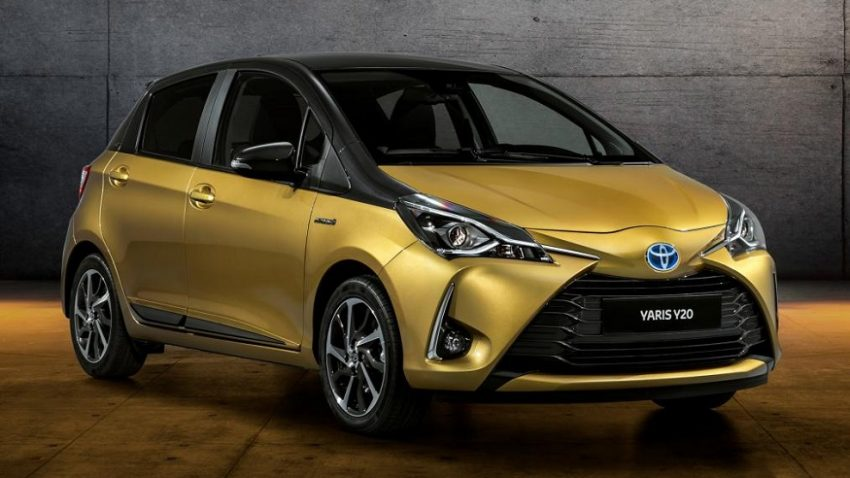 Toyota Celebrates 20 Years of Yaris with Gold-Painted Special Edition 6
