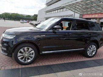 Zotye Copies the Range Rover Sport 7