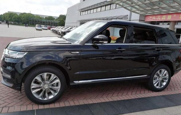 Zotye Copies the Range Rover Sport 1