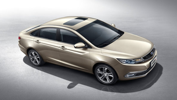 Geely Sales Exceed 1 Million Units Within 8 Months in 2018 3