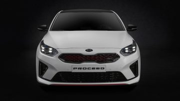 Kia Reveals the 2019 ProCeed 11