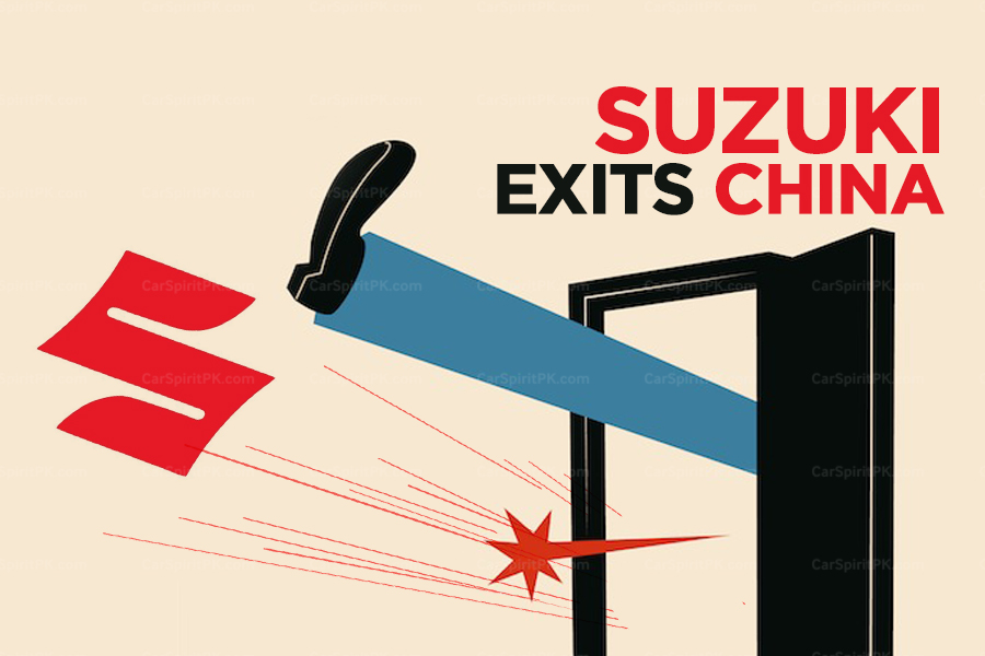 Suzuki Officially Exits from China 7