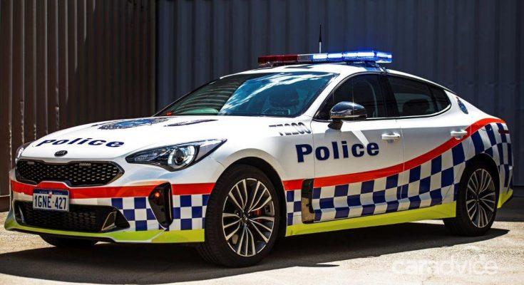 Following Queensland, Kia Stinger joins WA Police Fleet 1