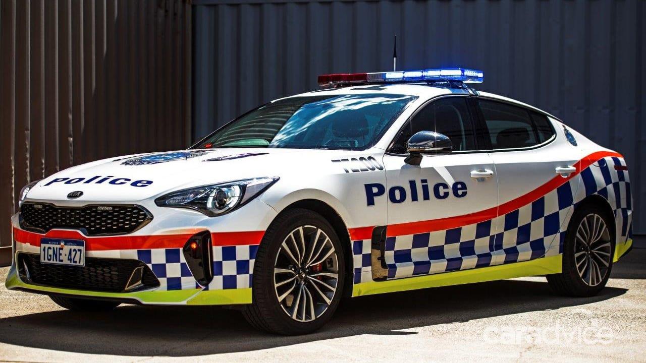 Following Queensland, Kia Stinger joins WA Police Fleet 10