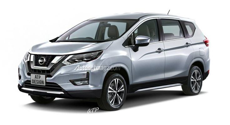 Nissan Readying the Next-Gen Grand Livina Based on Mitsubishi Xpander 1