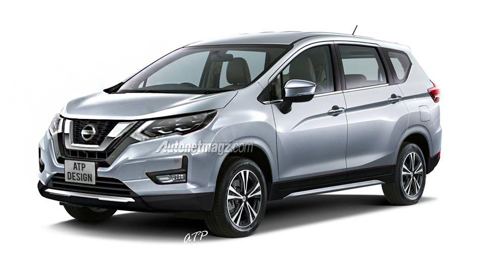 Nissan Readying the Next-Gen Grand Livina Based on Mitsubishi Xpander 3